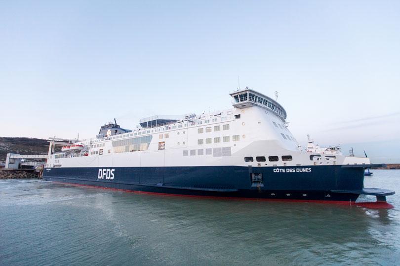 ferry calais dover route