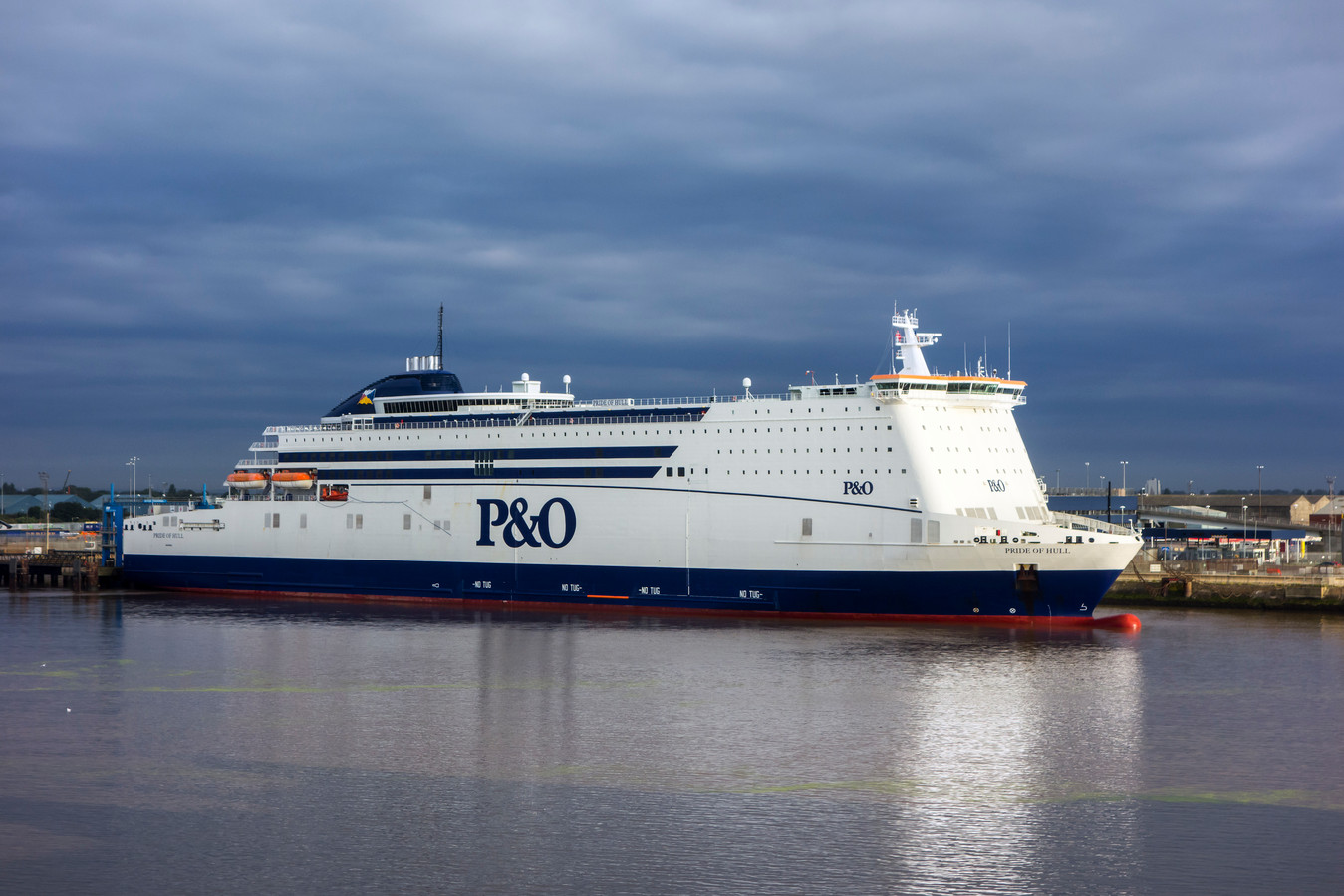 route P&O ferries